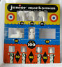 Vintage Tin Litho Junior Marksman by Superior Shooting Target Gallery Knock Down