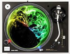 AFFILIATED SMOKE AROUND THE CLOCK - DJ SLIPMATS (1 PAIR) 1200's or any turntable
