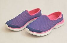 Womens Easy Spirit e360 Slip On Casual Shoes Size 9 Purple and Pink