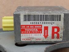 1999-2005 LEXUS IS200 AIR BAG IMPACT SENSOR OS DRIVER SIDE 89860-53010