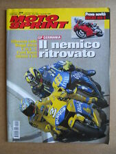 MOTOSPRINT n°29  2004 [Q77] TEST DUCATI 999 R YAMAHA XP 500 MAX