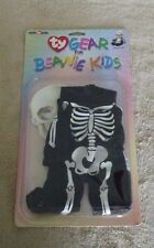 Ty Beanie Kids Gear Skeleton Halloween Costume New