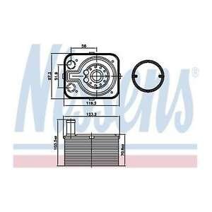 Fits Audi A4 B6 1.9 TDI Genuine OE Quality Nissens Gearbox Oil Cooler
