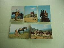 Karl May Winnetou Postkarten Schatz im Silbersee Karte Lex Barker Pierre Brice