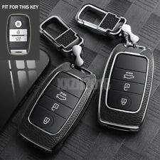 Zinc Alloy 3 Buttons Remote Key Chain Cover Case Fob For Kia Optima Rio Sorento Fits More Than One Vehicle