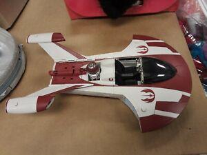 Star Wars Jedi Turbo Speeder THE CLONE WARS 2010 NEAR COMPLETE EX