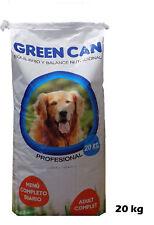 Saco de pienso comida para perros adultos GREEN CAN MANTENIMIENTO 20 KG