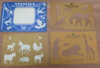 Vintage Stencils for gummed paper from 60's by Butterfly Brand