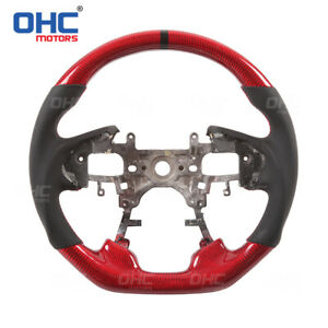 FOR Honda ACCORD STEERING WHEEL Real Carbon Fiber