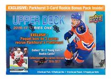 2016/17 Upper Deck Series 1 Hockey Mega Box (w/ Exclusive Parkhurst Bonus Pack)