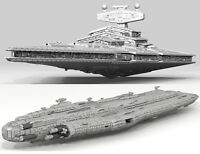 40,000-piece LEGO Star Wars Star Destroyer & Home One (LDD Model + INSTRUCTIONS)