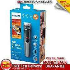 Philips Mens Hair Clipper Grooming Kit Face Trimmer Groomer Series 3000 9 in 1