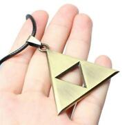 Fashion The Legend of Zelda Triangle Triforce Necklace Pendant Jewelry Findings