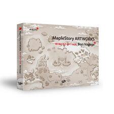 MapleStory ArtWorks Bon Voyage Korean Illustration Game Character Book