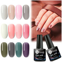 MTSSII Jelly Crystal Glass UV Gel Nail Art Polish Soak off Varnish Manicure Tips