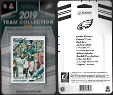 2019 Donruss Philadelphia EaglesTeam Collection NFL Trading Cards Wentz Ertz