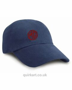 MG Cap Classic Car Embroidered Various Colours Cap Personalised Free P&P