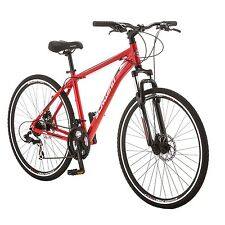 Schwinn GTX 2.0 700c Mens Dual 18 Sport Bike,18-Inch/Medium,Red- S2786B Cycles