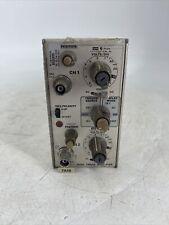 Tektronix 7a18 Dual Trace Amplifier Plug In Module Oscillator