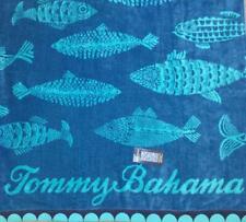 NWT TOMMY BAHAMA Fish Beach Towel 36 x 68 100% Cotton
