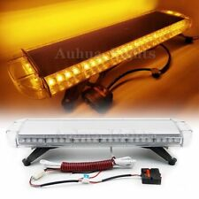 "30"" LED Warning Emergency Beacon Lightbar Tow Truck Wrecker Rooftop Strobe Amber"