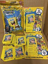 More details for topps stickers spongebob squarepants 50 packs 1 album 2 multi pack nickelodeon p