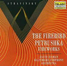 David Zinman - Igor Stravinsky The FirebirdPetrushkaFireworks [CD]