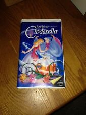 Walt Disney Cinderella  Black Diamond (The Classics Edition) Rare VHS