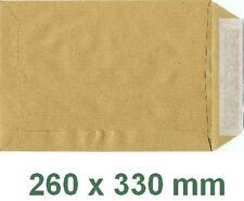 100 Pochettes ( enveloppes ) 260 x 330 mm kraft 90 gr