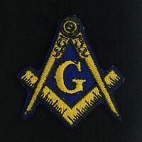 Masonic Iron-On Embroidered Emblem Patch (MP-5)