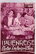 ITALIENREISE - LIEBE INBEGRIFFEN / NFP 707 Wien / Susanne Cramer, Walter Giller
