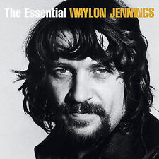 The Essential by Waylon Jennings (CD, Jul-2007, 2 Discs, RCA/Legacy)