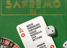 SANREMO 86 LP LOREDANA BERTE RETTORE ANNA OXA MARCELLA GOGGI MIANI BALDI sealed