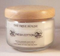Palm Oil Candles.Organic.Scented.Glass Jar + wooden Top. The Tree House 325ml
