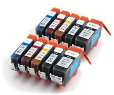 10 Canon Pixma MP540 MP550 MP560 Compatible Ink Cartridges, PGI-520 CLI-521
