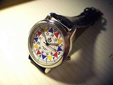 RAF Sector Clock Wrist Watch, Operations Room WW2 Battle Britain Style Replica.
