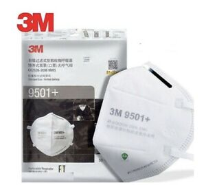 3M 9501+(Pack of 50). Factory sealed. 2-3 Day Shippping.