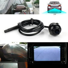 360° Car Front Side Rear View Camera Rotatable CCD Parking Reverse HD Cam