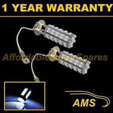 2X H3 WHITE 60 LED FRONT FOG SPOT LAMP LIGHT BULBS HIGH POWER KIT XENON FF500201