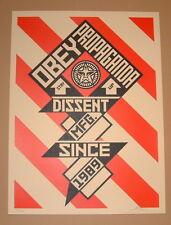 Constructivist Banner Shepard Fairey Art Print Poster Signed Numbered Cream