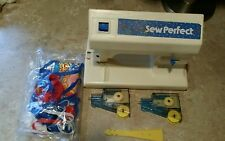 1976 Mattel Sew Perfect Sewing Machine No. 9749 with Cartridges