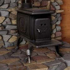 Small Wood Stove Burning Fireplace Heater Cast Iron 900 Square Feet Log Cabin