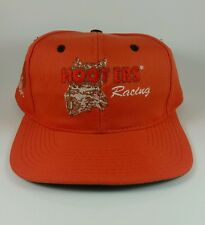 Hooters racing orange snap back hat