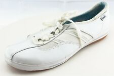 Keds Size 7.5 M White Lace Up Fashion Sneakers Synthetic Shoes