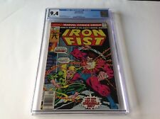 IRON FIST 7 CGC 9.4 WHITE PGS CHRIS CLAREMONT JOHN BYRNE ANGAR APP MARVEL COMICS