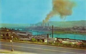 Jones & Laughlin Steel Mill on Monongahela River Pittsburgh PA Pennsylvania