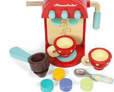 Le Toy Van Cafe Machine | Adorable Wooden Coffee Machine Toy | UK Seller