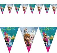 Disney Frozen Party Anna Elsa  Pennant Flag Banner Bunting Party  Decoration