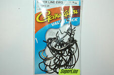 gamakatsu super line 3/0 offset extra wide gap ewg hook 74413-25 value pack