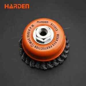 HARDEN 100MMXM14x2.0 CUP TWIST WIRE BRUSH